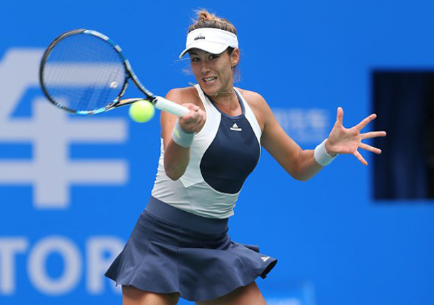 Muguruza Rallies Past Radwanska to Reach Beijing Final