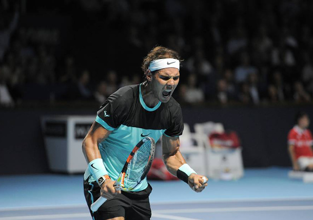 Nadal Fights Past Cilic Into Basel Semifinals