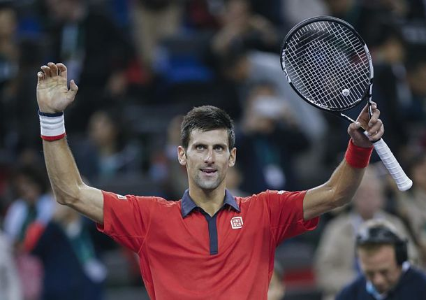 Djokovic Completes Asian Sweep in Shanghai