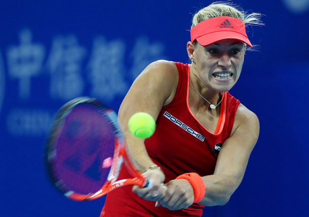 Kerber, Muguruza Closing in on Singapore