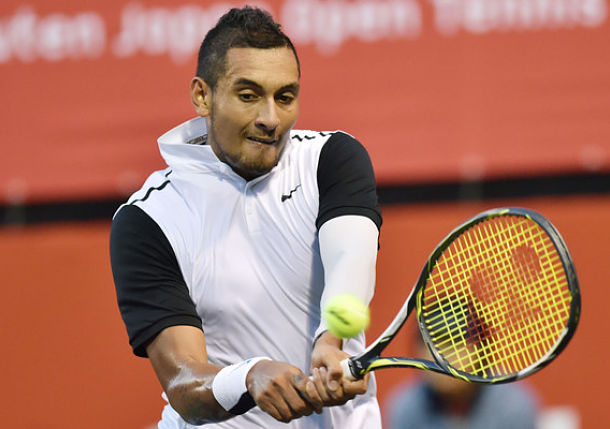 Kyrgios Fined, Says Coach Isn't Necessary Now