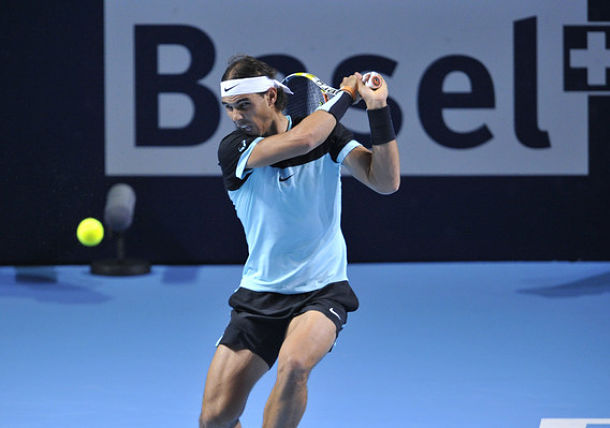Nadal Survives Testy Clash with Rosol in Basel