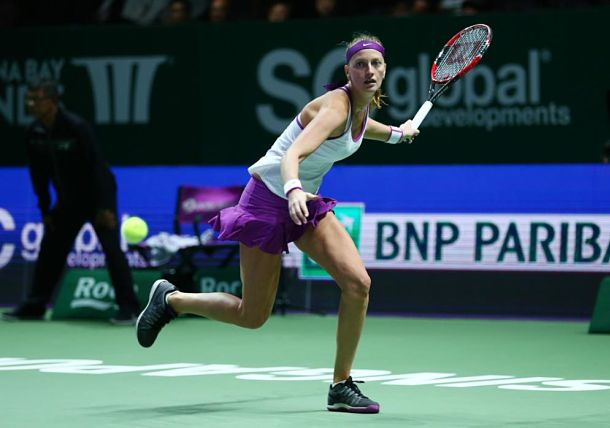 Weary Kvitova Summons Sizzle to Down Safarova