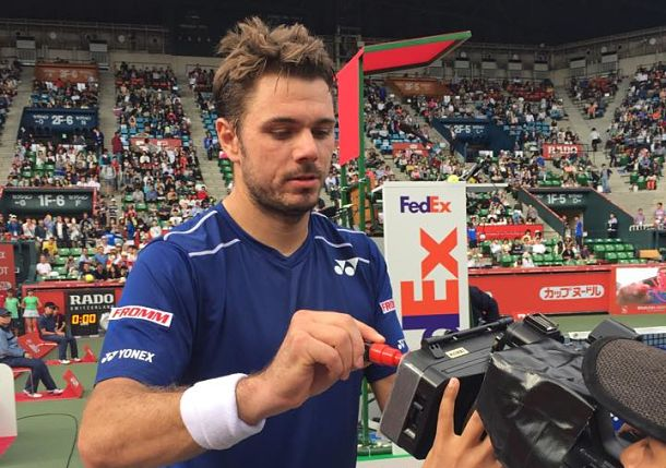 Top-Seeded Wawrinka Downs Stepanek in Tokyo