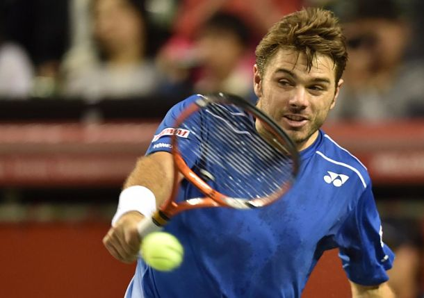Wawrinka Claims Fourth Title of 2015 in Tokyo