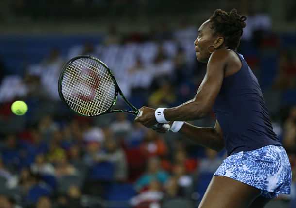 Venus Williams Downs Vinci, Reaches Wuhan Final