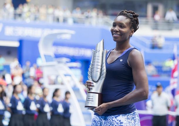 Venus Williams Wins Wuhan Title