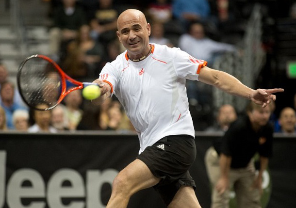Agassi's Advice: Get a Haircut!