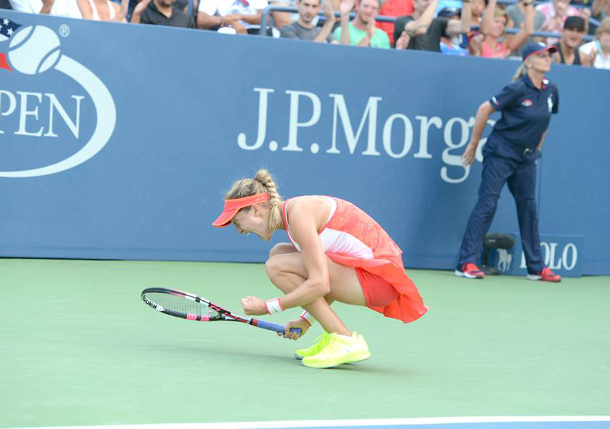 Bouchard Battles By Cibulkova into US Open Fourth Round