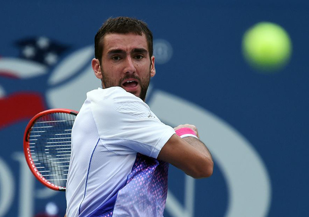 Cilic Denies Tsonga's Comeback to Reach Second Straight US Open Semifinal