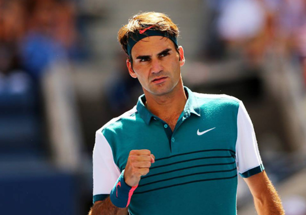 Federer Flies Into US Open Fourth-Round Clash with Isner
