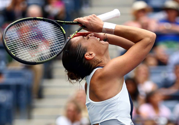 Pennetta Routs Halep to Roll into US Open Final
