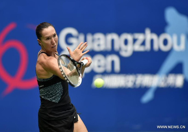 Jankovic Saves Match Point Snapping Wickmayer's Winning Streak