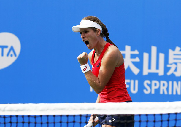 Konta Tops Petkovic, Will Face Azarenka in Wuhan