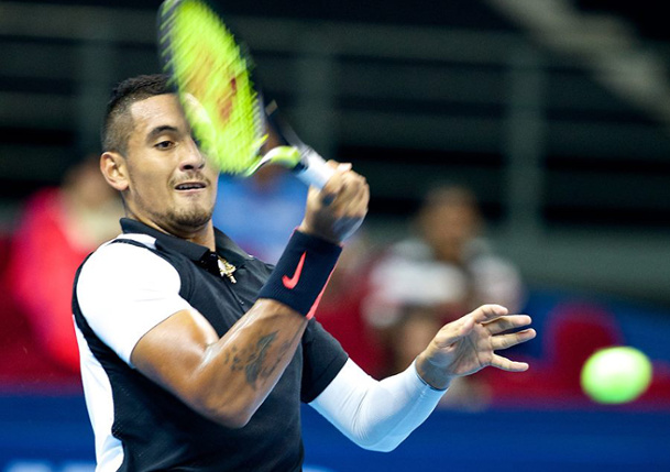 Kyrgios Sets Up Quarterfinal with Karlovic in Malaysia