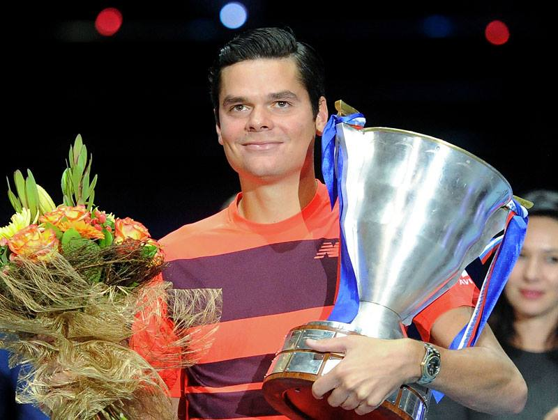Raonic Battles Past Sousa For St. Petersburg Title