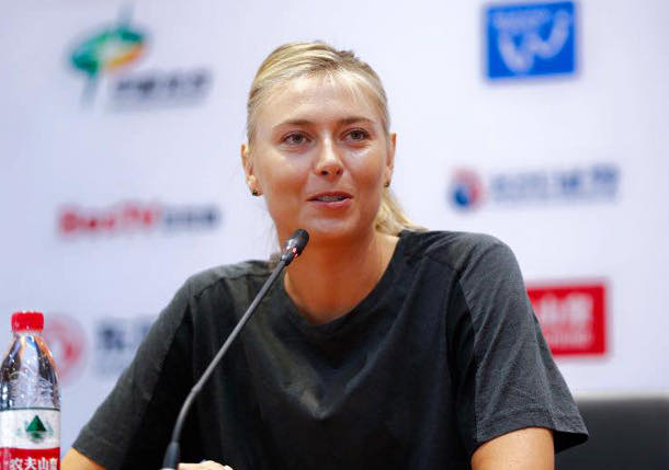 Sharapova Retires From Wuhan Opener