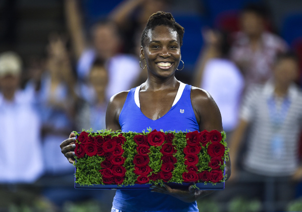 Venus Williams Wins 700th Career Match in Wuhan