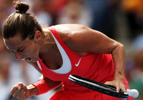 """Vinci on """"Impossible"""" Upset of Serena: Today Was My Day"""