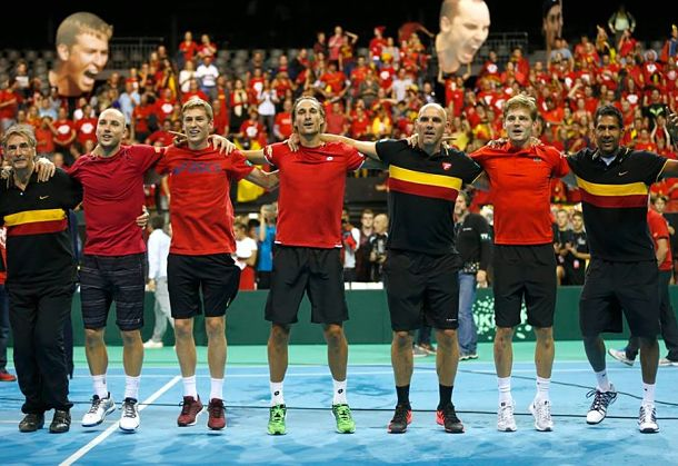 Belgium Reaches First Davis Cup Final Since 1904