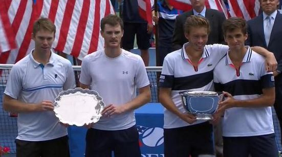 Herbert and Mahut Become first All-French Pairing to Win US Open