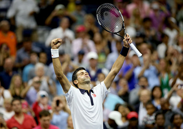 Djokovic Reaches 26th Consecutive Grand Slam Quarterfinal