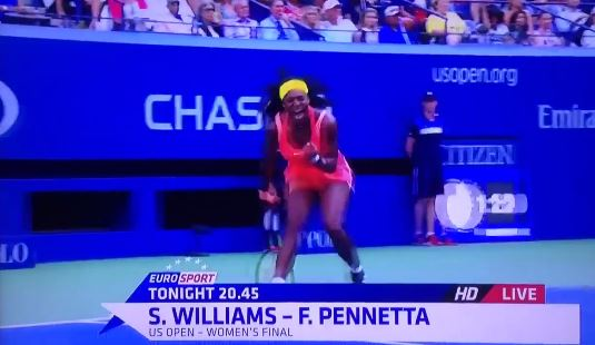 Epic Fail by Eurosport Pits Pennetta-Williams in the Final