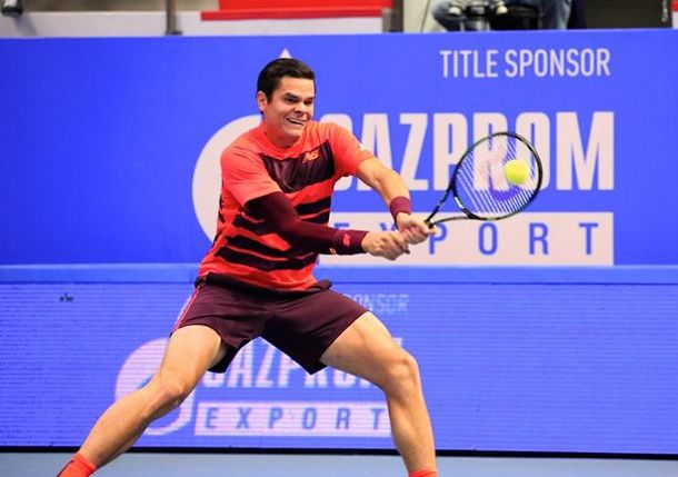 Raonic Races on in St. Petersburg