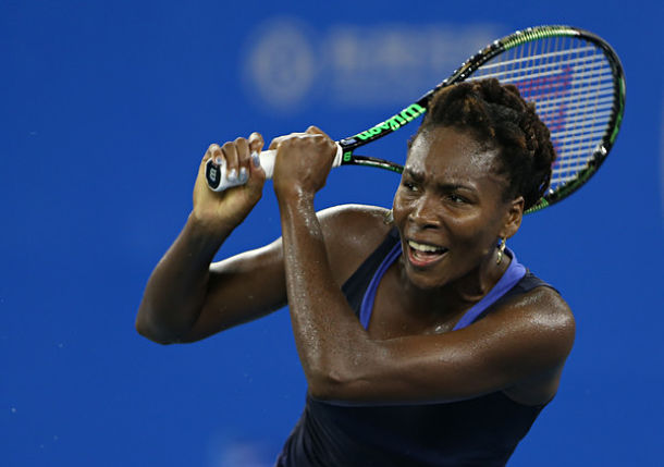 Venus Williams Wins Again in Wuhan