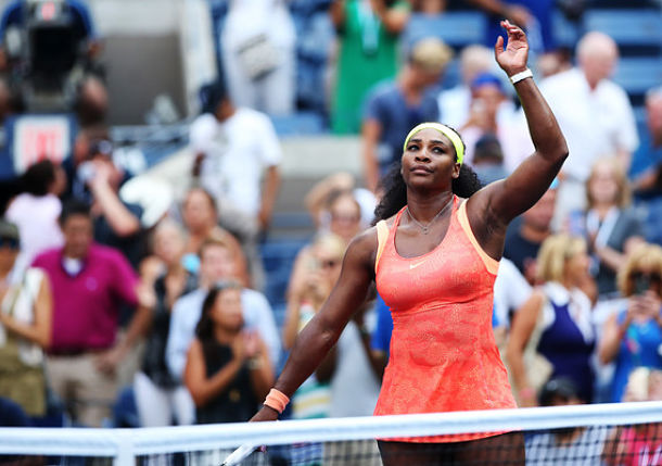 Serena Williams Inches Closer to Calendar Slam Despite Shaky Serving