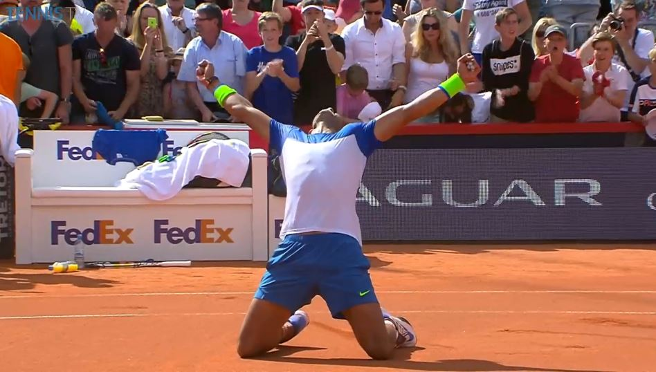 Video: Fognini Barks at Nadal During Hamburg Changeover