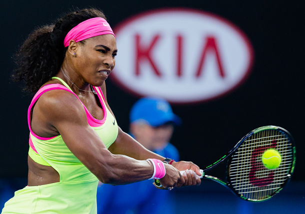 Serena Powers Past Cibulkova Into Semifinals