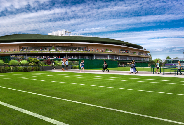 Wimbledon Unveils Views of New Court 1