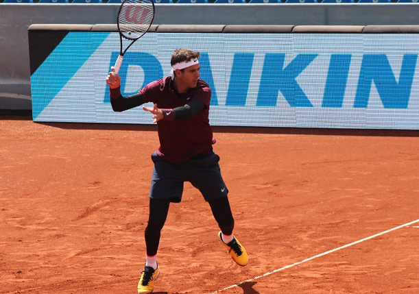 Del Potro Earns First Clay Win in Three Years