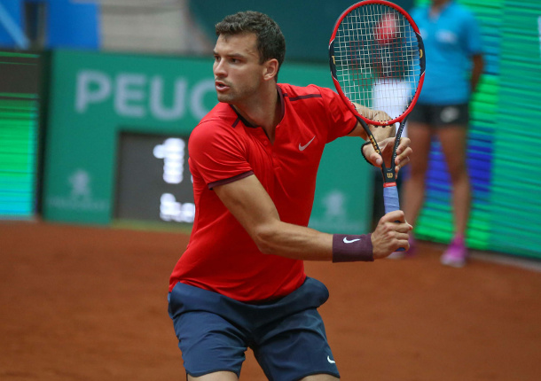 Dimitrov Edges Karlovic to Reach Istanbul Final