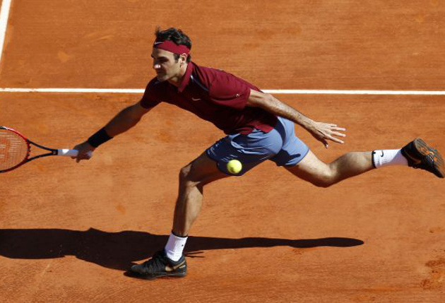Federer Upbeat Despite Shades of Grey