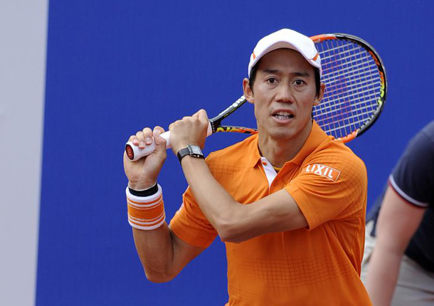 Nishikori Sweeps Into Third Barcelona Final