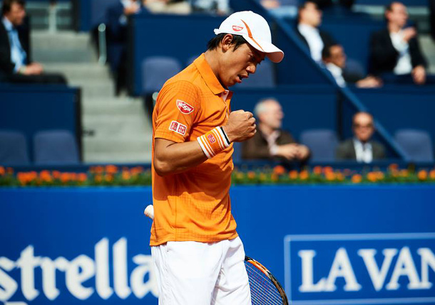 Nishikori's Nine-Game Run Seals Semifinal Spot