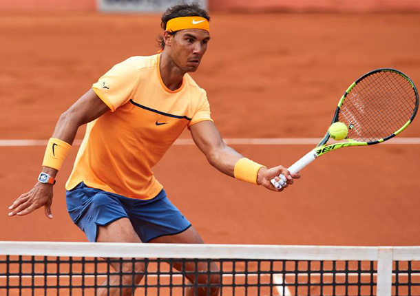 Nadal Sweeps Fognini For Eighth Straight Win