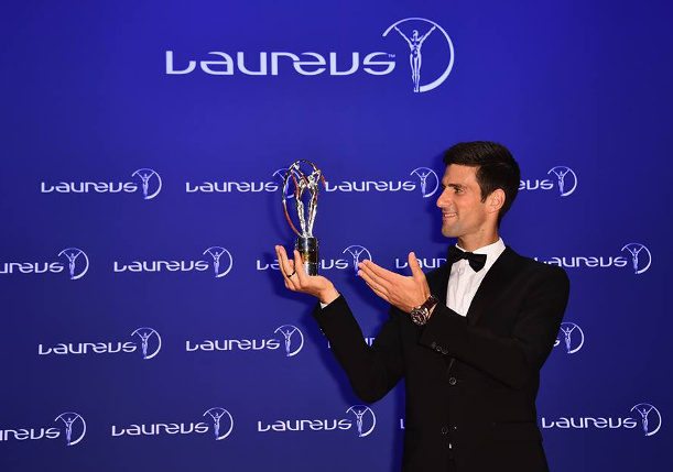 Djokovic, Serena Sweep Top Laureus Awards