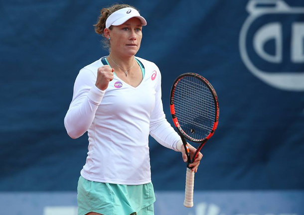 Stosur Edges Strycova in Third-Set Tie Break
