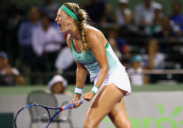 Azarenka Powers to 20th Career Title in Miami