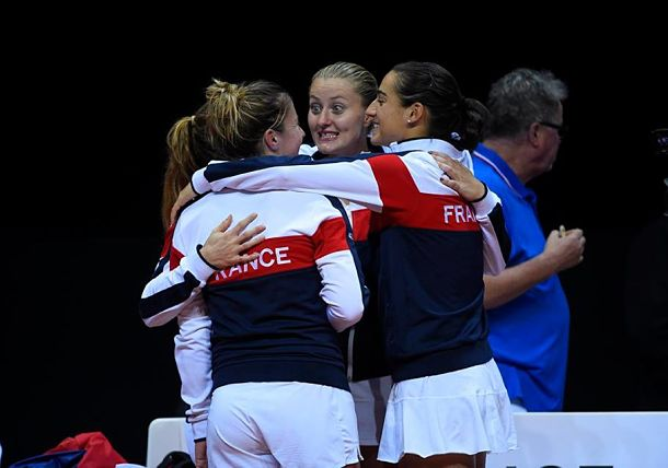 France Reaches First Fed Cup Final since 2005
