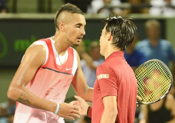 Nishikori's Miami Magic Lands Him in Final with Djokovic