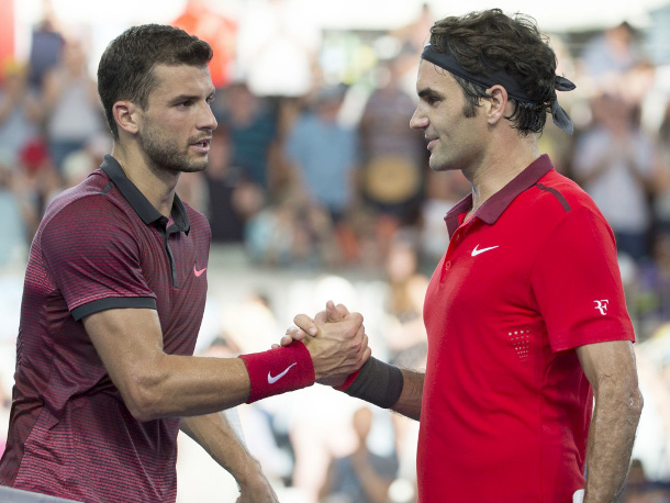 Watch: Federer, Dimitrov Lead Luxilon Army