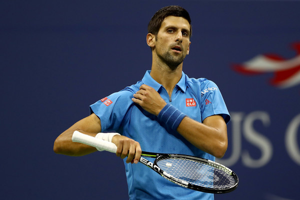 Djokovic Dances Around Questions on Injury After Opening Round Win