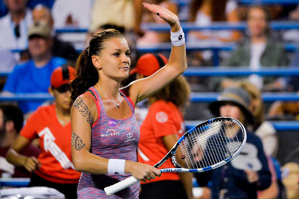 Radwanska Holds Off Svitolina to Win New Haven Title