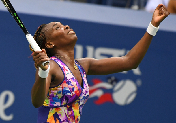 Venus Fights Off Kozlova, Reaches US Open Second Round