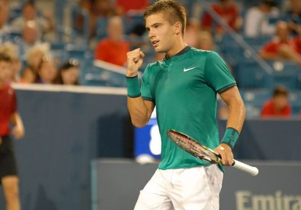 Coric Tops Nadal to Reach First Masters Quarterfinal