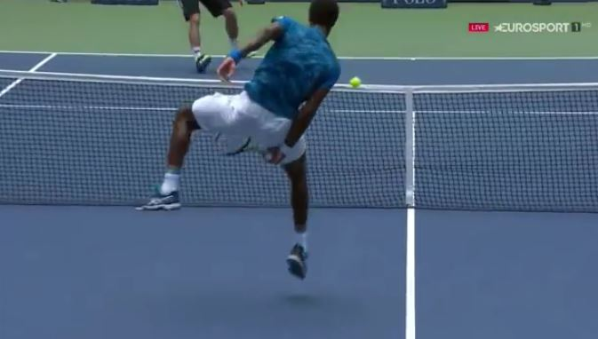 Monfils Brings the Party to Ashe